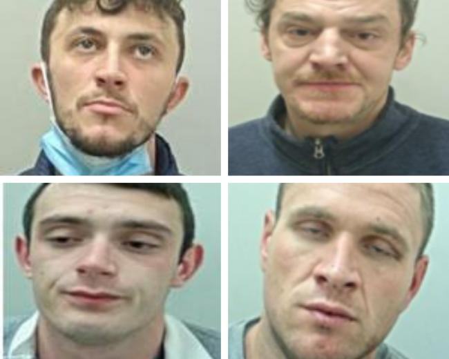 The four most wanted men in East Lancashire this week