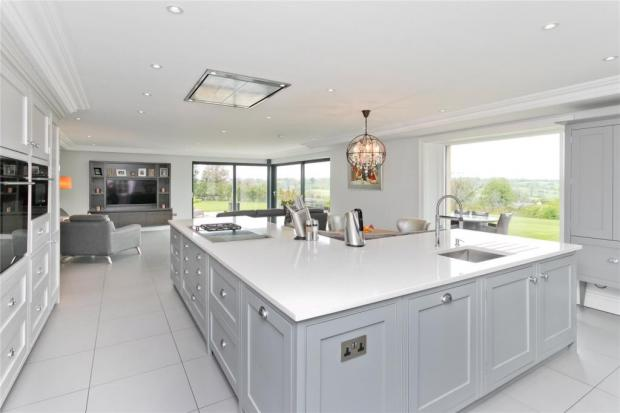 Lancashire Telegraph: The kitchen, living and dining space