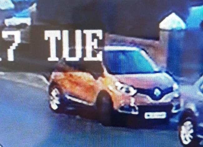 Number plate of burnt orange Renault needed as police launch investigation into motor vehicle offences