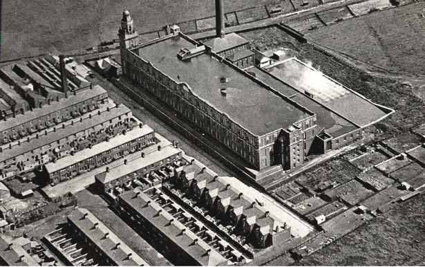 Stanhill Ring Mill in the 1930s