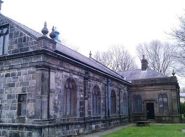 Fly-tipping: Someone was seen dumping rubbish near St James Over Darwen Church