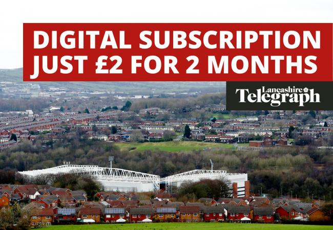 Don't miss out on Lancashire Telegraph's £2 for 2 months digital subscription offer