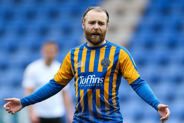 Harry Chapman has impressed on loan at League One side Shrewsbury Town