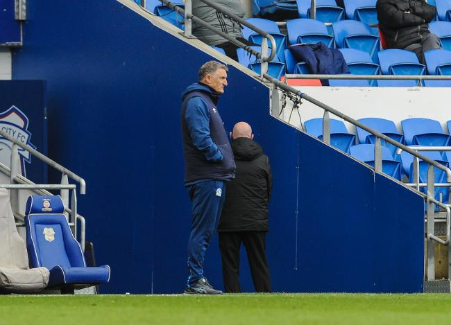 Tony Mowbray used all five of his substitutes in one go at Cardiff City