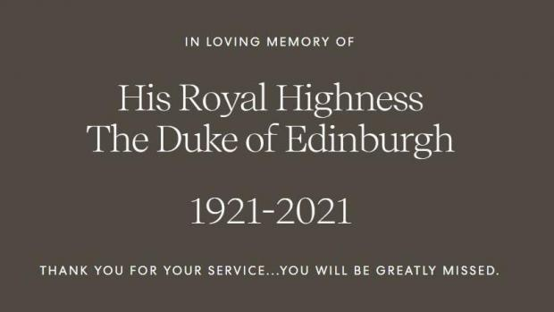 Lancashire Telegraph: the Duke and Duchess of Sussex paid tribute to Philip on the website of their foundation Archewell. (Archewell)