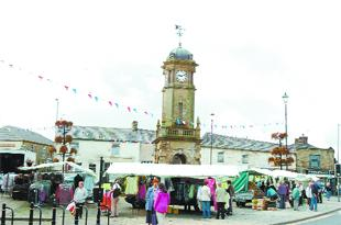 Great Harwood market place