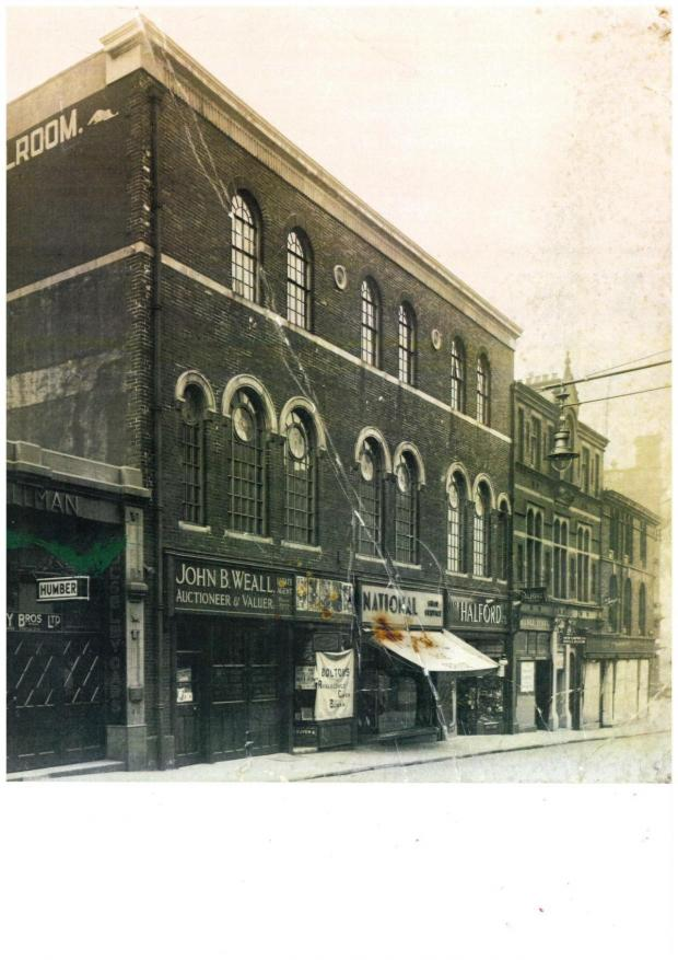 Lancashire Telegraph: Tony's ballroom in 1936 after renovation and rebuilding
