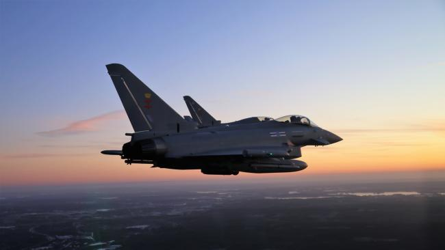 Eurofighter: BAE Systems is leading a bid to build jets for the Finnish air force (Credit: BAE Systems)