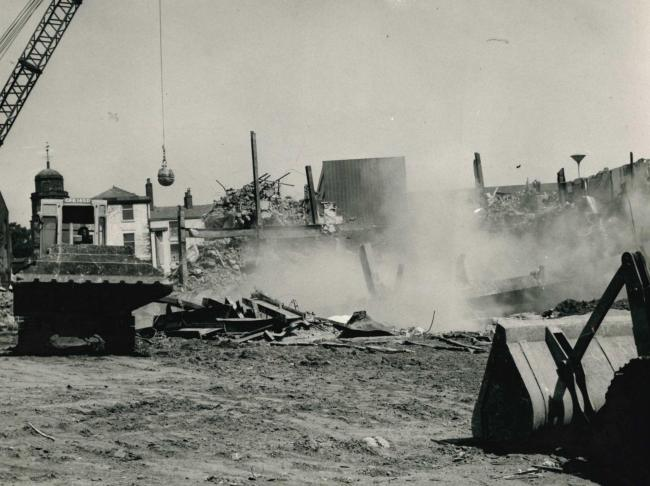 FLATTENED: Demolition of Cinema Royal, Blackburn, 1967