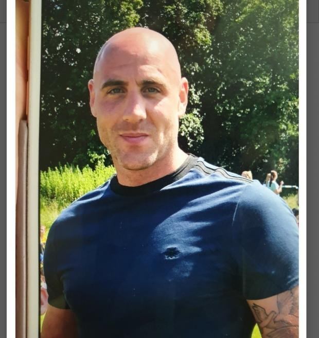 Lancashire Telegraph: Former Warrington Town striker James Dean has been reported missing. Picture by Hyndburn Police Twitter