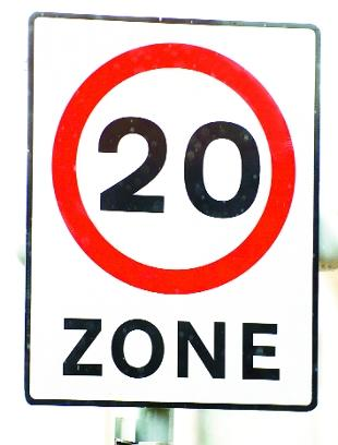 LET'S CUT LIMIT: More 20mph signs could be going up in Blackburn and Darwen if a health expert's plan goes ahead
