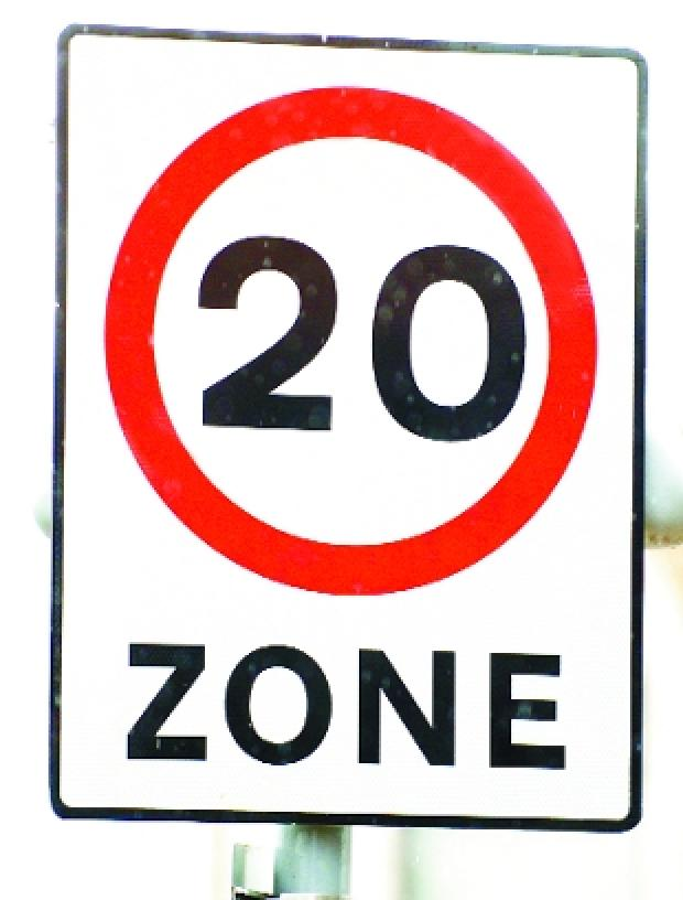 Lancashire Telegraph: LET'S CUT LIMIT: More 20mph signs could be going up in Blackburn and Darwen if a health expert's plan goes ahead
