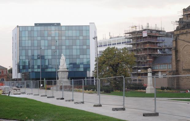 Lancashire Telegraph: Jade Doherty 27-10-15..Premier Inn in Blackburn Town Centre.