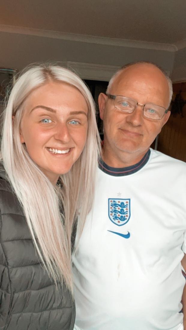 Lancashire Telegraph: Jodie and her dad (Photo: Jodie Sutcliffe)