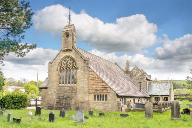 Lancashire Telegraph: The Accrington home once stood as a church (Photo: Rightmove/Fine and Country)