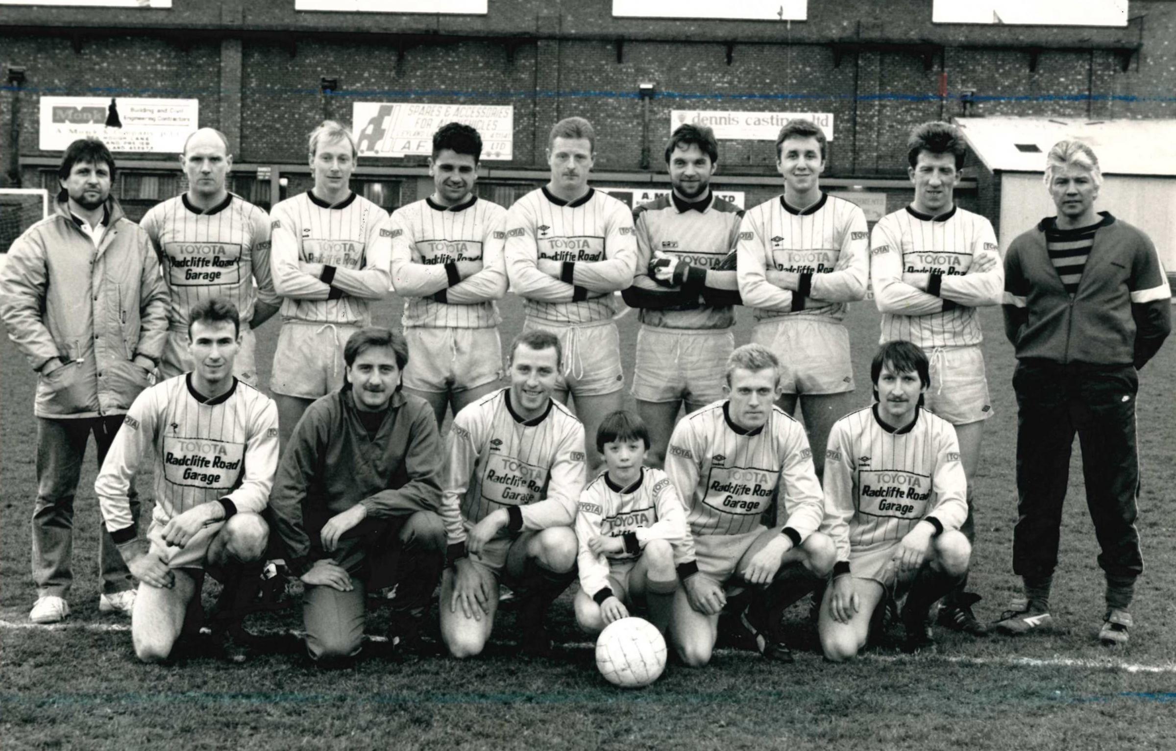 Turton Football Club meminta arsip gambar menjelang ulang tahun ke-150