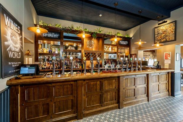 Lancashire Telegraph: Birley Arms interior