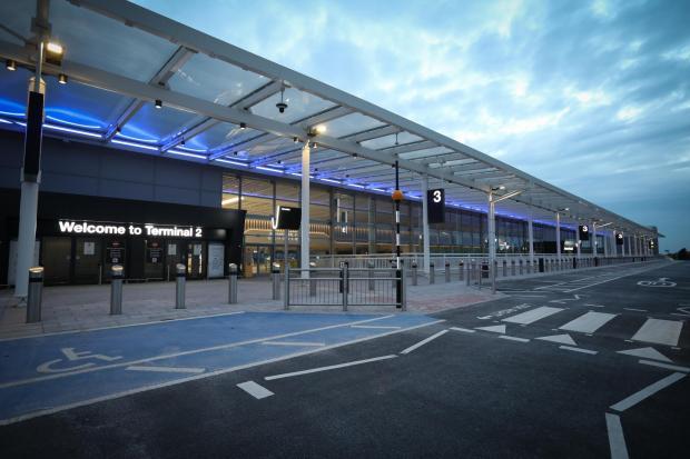 Lancashire Telegraph: Outside Terminal 2