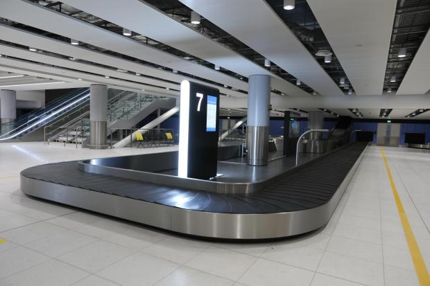 Lancashire Telegraph: Baggage area at Manchester Airport