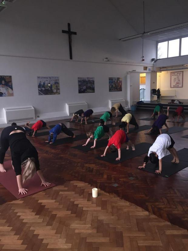 Lancashire Telegraph: Yoga teacher, Tessa Clemson, who teaches yoga across East Lancs, including in schools, has set up a new mother and baby yoga group in Rishton