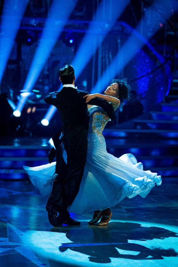 Lancashire Telegraph: Ranvir Singh made it to the semi-finals of the 18th series of Strictly Come Dancing with partner Giovanni Pernice (Guy Levy/BBC)