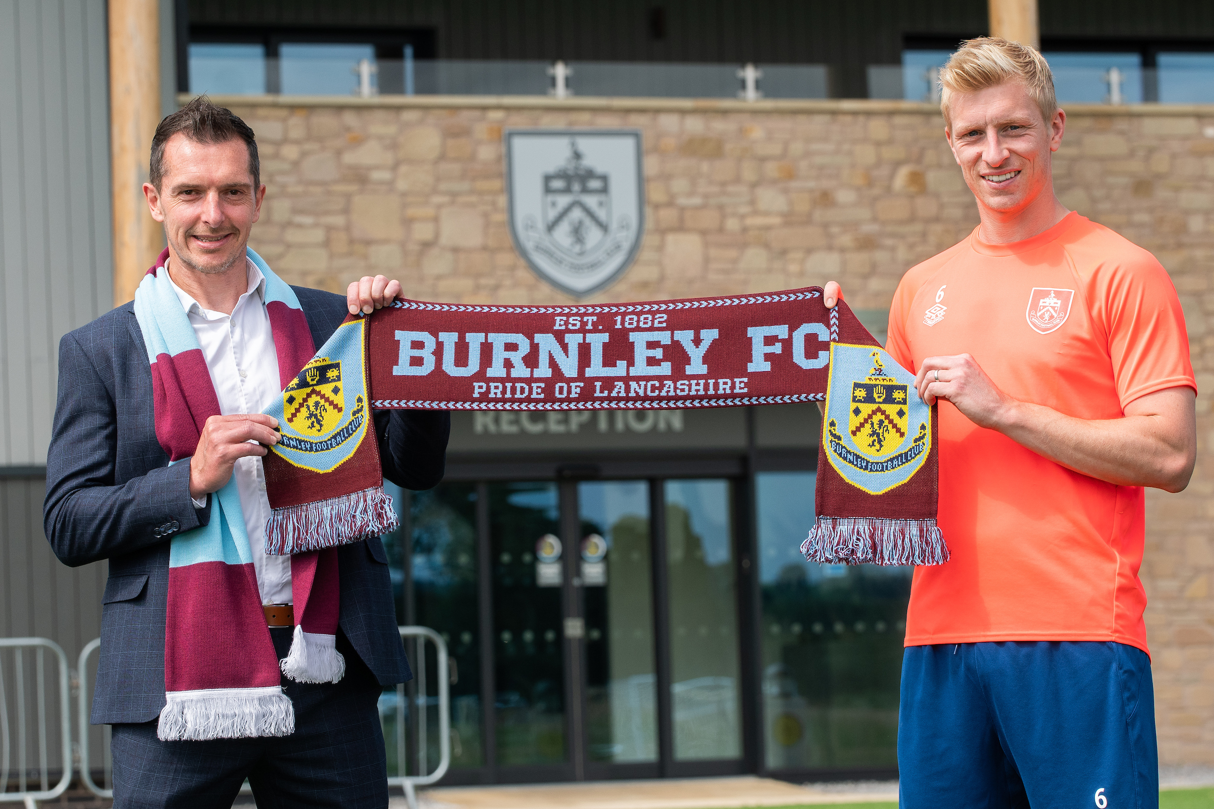 Burnley announce new principal shirt sponsor for 2021/22 season