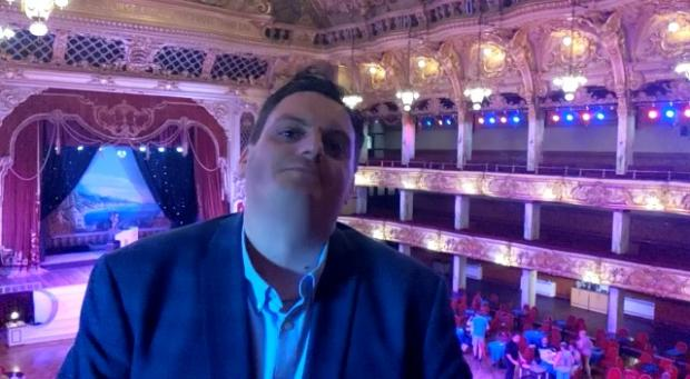 Lancashire Telegraph: Kenny Mew, General Manager of The Blackpool Tower