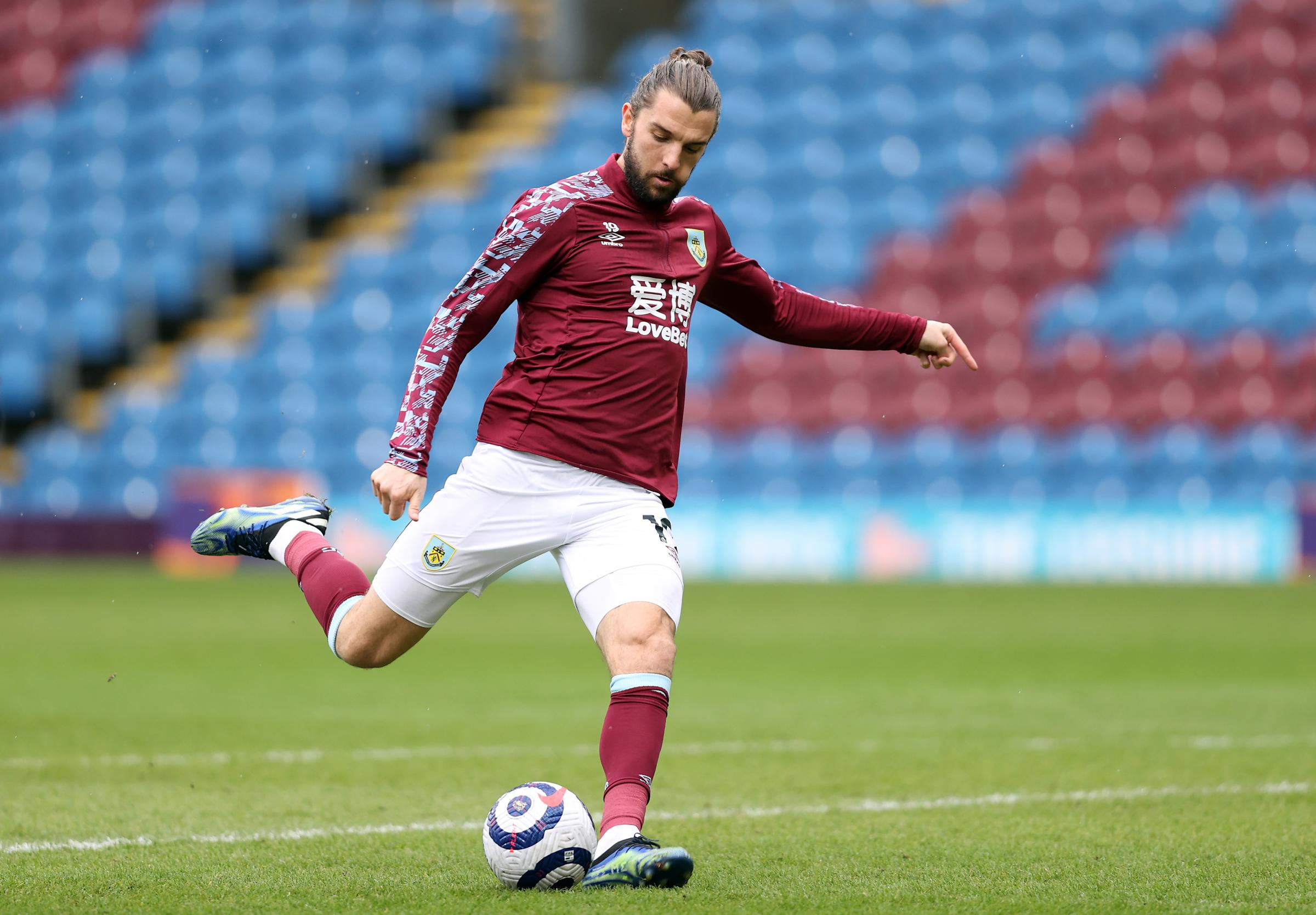 Burnley striker Jay Rodriguez on pre-season, fans and new boy Nathan Collins