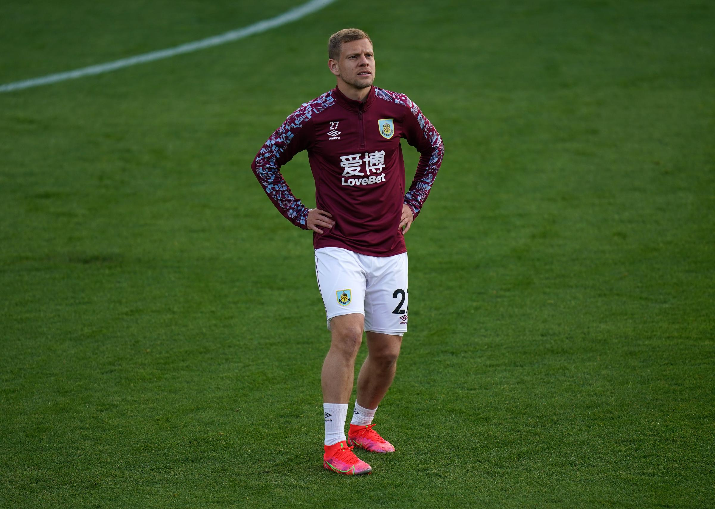 Burnley boss Sean Dyche gives update on Matej Vydra