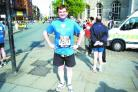 10K CHALLENGE: Mark Blackburn has been in training