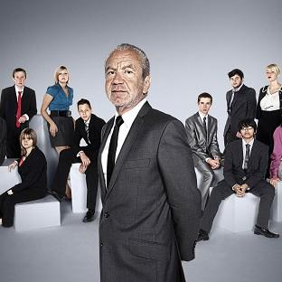 The Junior Apprentice candidates with Lord Sugar
