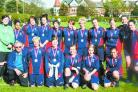 SO CLOSE: The AGLFC Under 17s team