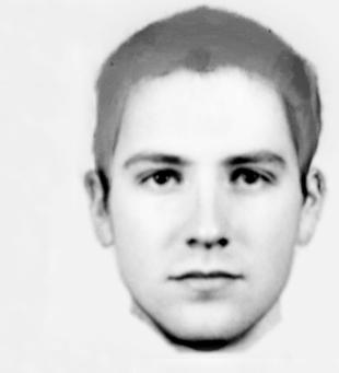 HUNT: The E-FIT of the man police say has flashed at seven different women