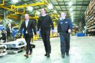 VISIT: David Cameron at WEC during the election campaign