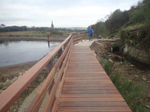 Lancashire Telegraph: the restored bridge