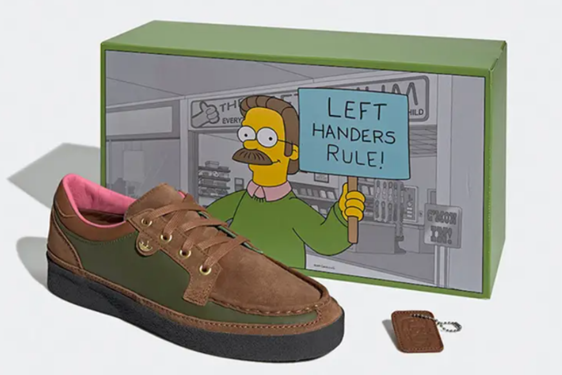 Adidas celebra a Ned Flanders de Los Simpson con nuevas zapatillas: cómo comprar