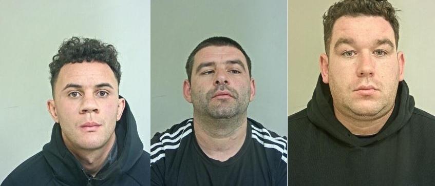 PENJARA: Geng narkoba yang menghasilkan £2k sehari mengangkut crack dan heroin dari Lancashire ke Skotlandia
