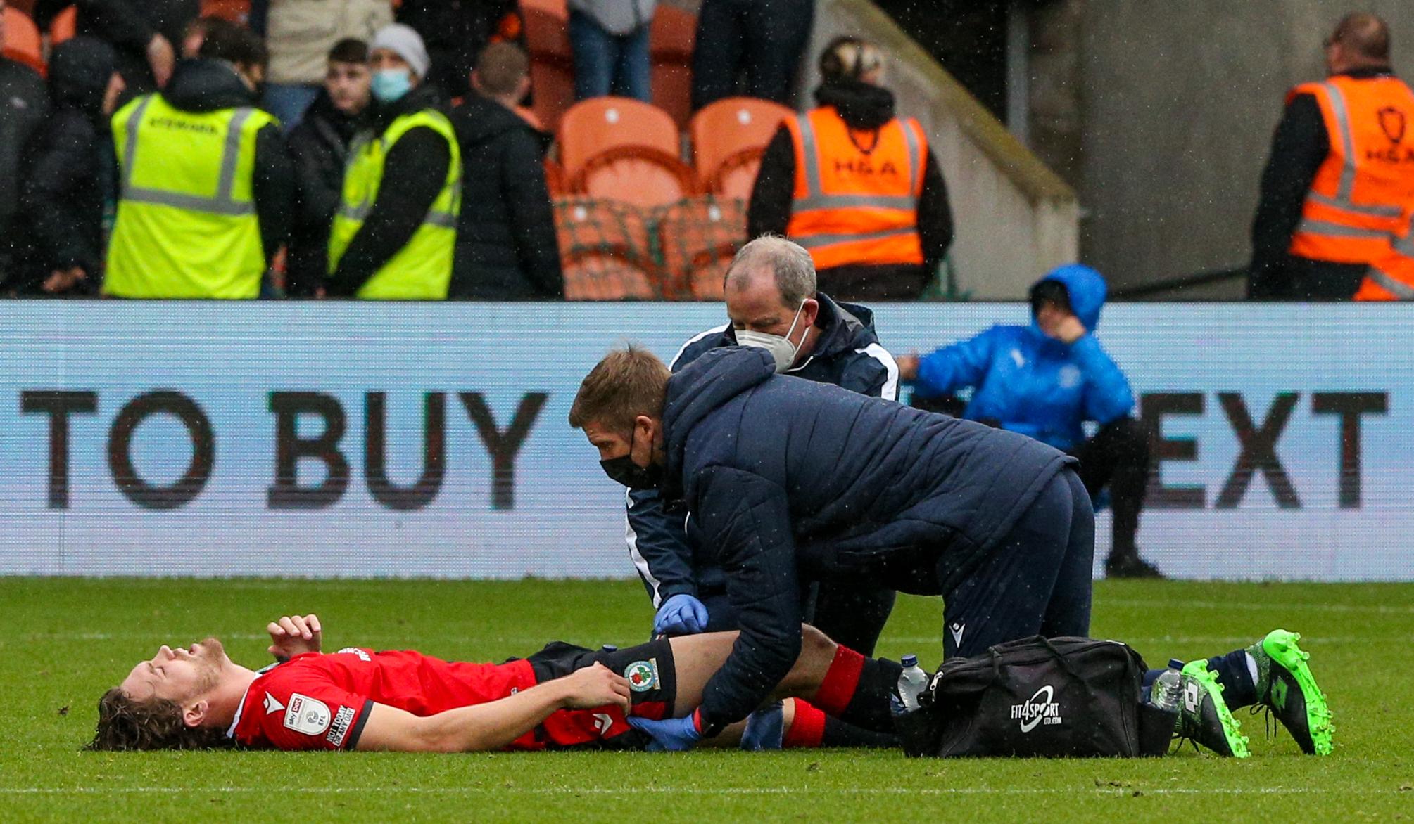 Tony Mowbray da la bienvenida al descanso y da la última lesión al Blackburn Rovers