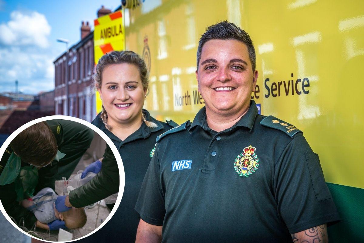 Los paramédicos de Lancashire enfrentan 'la pesadilla de todos los padres' en el programa de la BBC