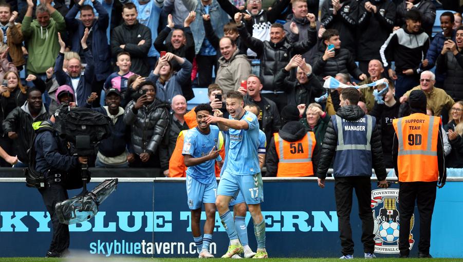 Coventry City se prepara para seguir adelante contra Blackburn Rovers