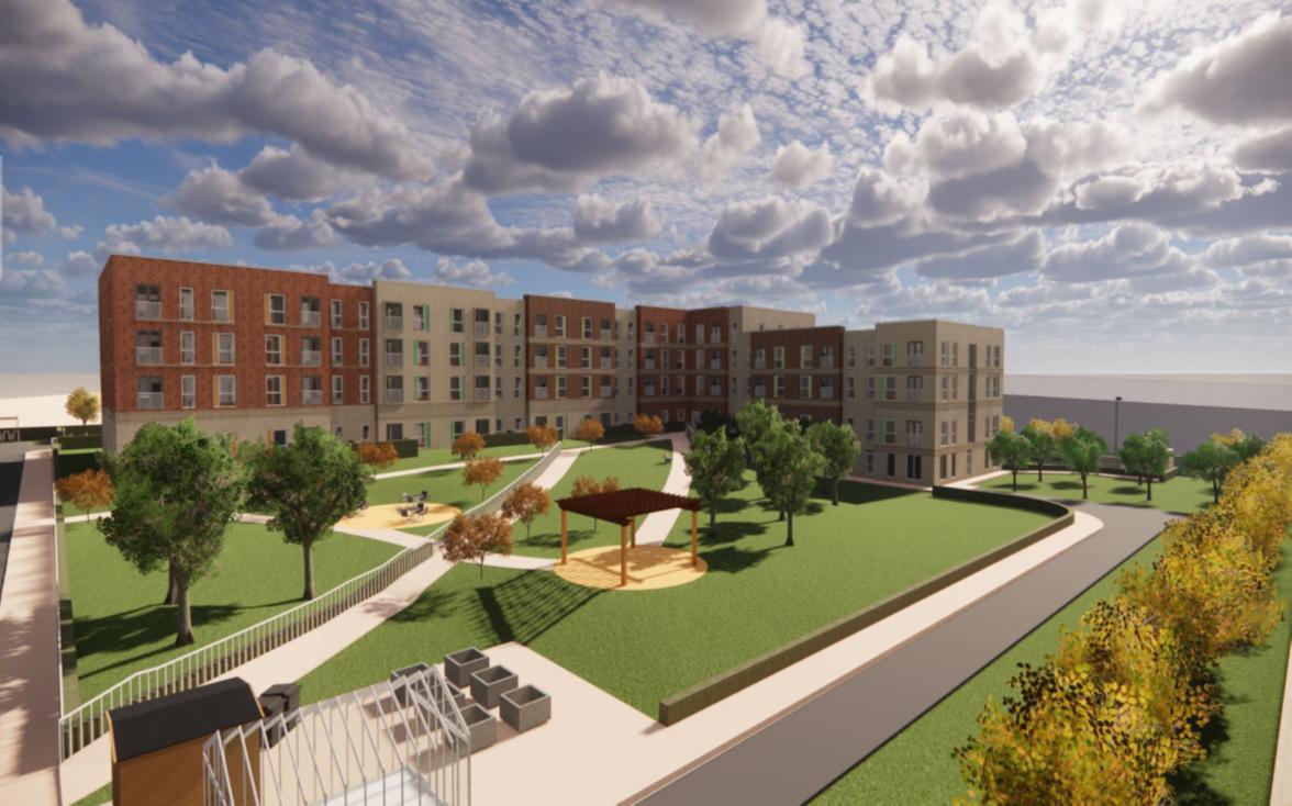 Pandangan pertama pada rencana untuk pengembangan akomodasi hidup berbantuan £ 16,6 juta di Burnley