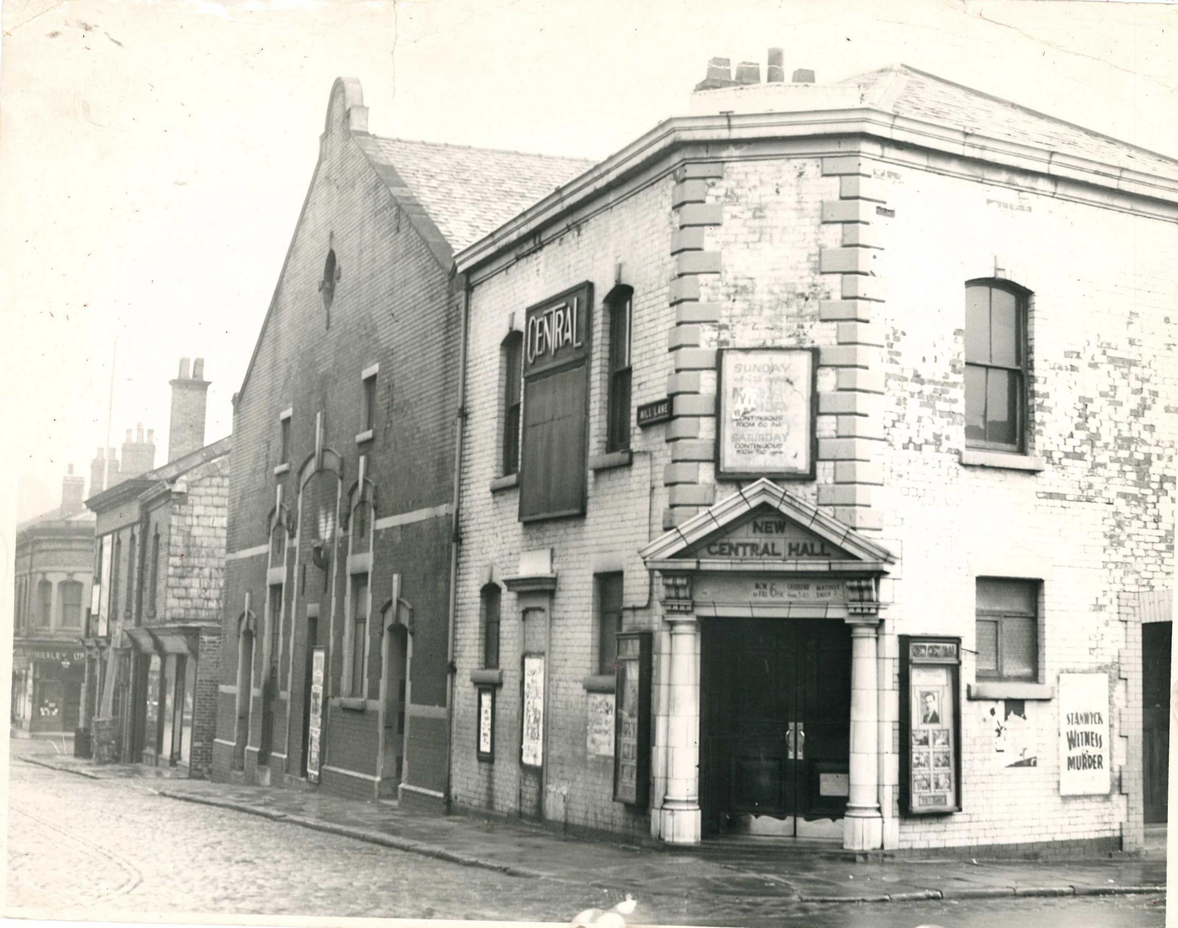 ¡El cine 'perdido' de Blackburn fue una vez el hogar del circo!