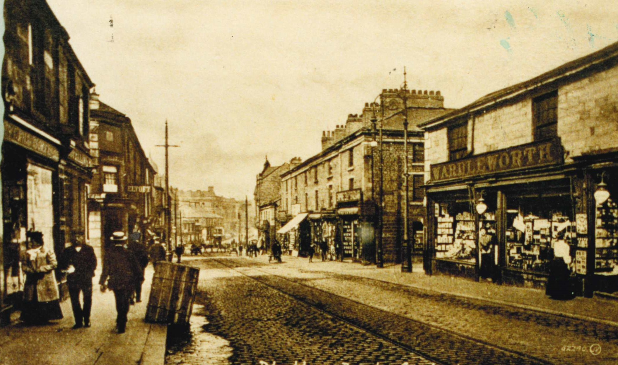 Bagian Wardleworth dari kehidupan Accrington sebelum Perang Dunia Pertama