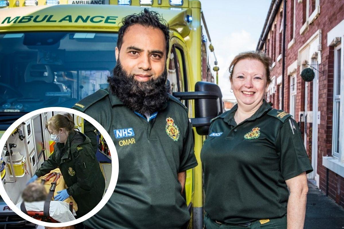 Paramedis Blackburn membantu pria yang 'ingin dicintai' di acara BBC