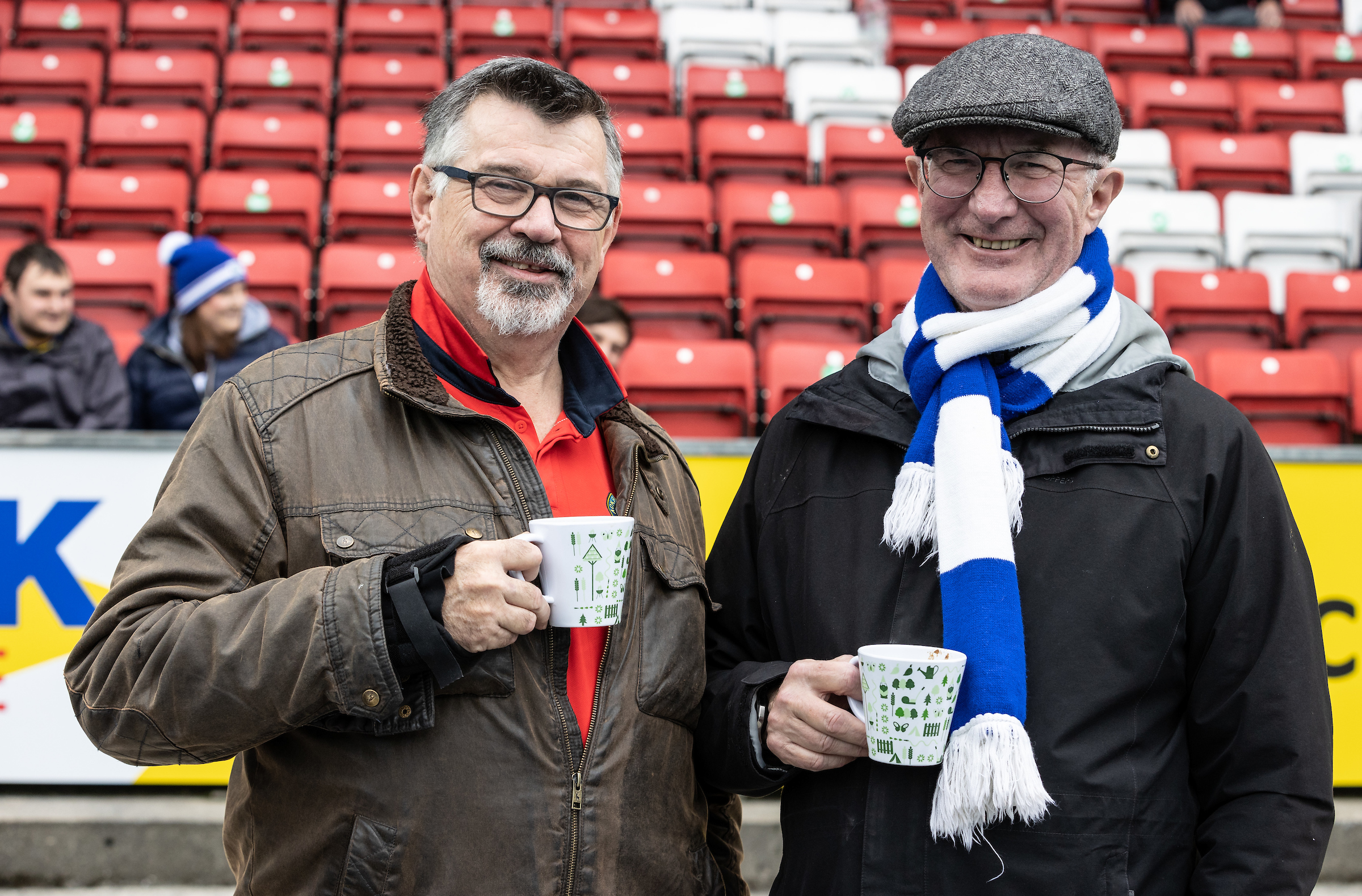 Blackburn Rovers v Reading – galería de fans de Ewood Park