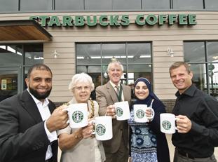 Starbucks Opens In Blackburn From Lancashire Telegraph
