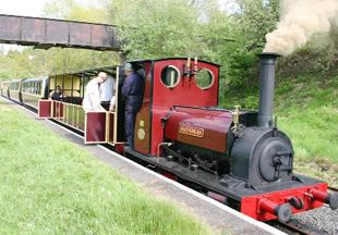 SCENIC: the Bala Lake railway