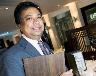 HOT STUFF: Mohammad Ali, owner of the Shajan restaurant who has retained his best caterer of the year title in the national Bangladesh Caterers Association's food awards