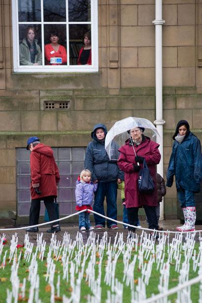 Two-minutes' silence to mark Armistice Day in Burnley