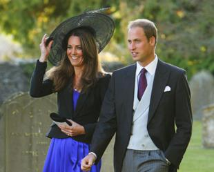 VISIT: The royal couple